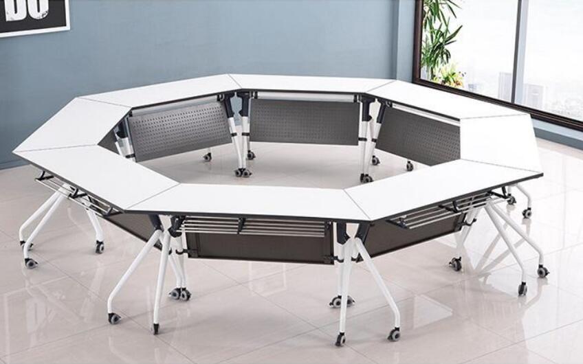广东东莞东城地图_PD1019学生课桌椅折叠培训桌椅组合折叠桌-培多思家具